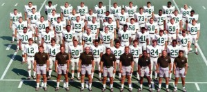 Marshall University football team in 1970