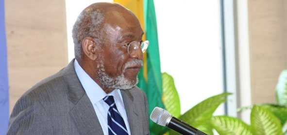 U.S. State Department Assistant Secretary Johnnie Carson leads the department's Bureau of African Affairs.